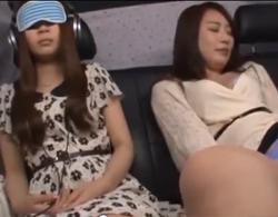 【NTR】人妻のsex動画。美女母娘をナンパし人妻母を車内で電マ責めからのホテルでガッツリNTRSEX