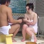 里咲しおり:あ~、やっちゃった。姉弟なのに…。巨乳な姉ちゃんと混浴した弟が近親相姦