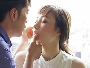 セックスレス人妻がAVデビュー企画!この美貌でデカ乳輪のギャップがエロい岡田美咲さん!