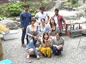欲求不満なヒトヅマとイケメンが合コンBBQキャンプ☆その一部始終を秘密撮影した企画がこちらww
